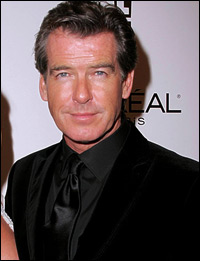 Pierce Brosnan, the fifth James Bond, 007