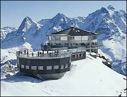 Piz Glora - Blofeld's lair in On Her Majesty's Secret Service