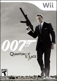 The Quantum of Solace Video Game for Nintendo Wii