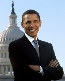 Barack Obama, the 44th President of the United States of America