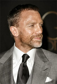 Daniel Craig in between Bond films