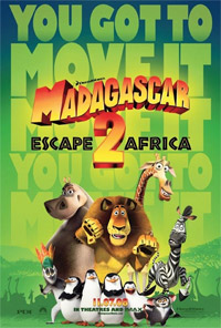 Madagascar 2 Movie Poster