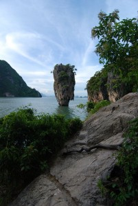 Nail Island, off of James Bond Island in Phang Nga Bay