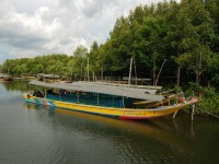 Our boat for visiting Phang Nga Bay and James Bond Island