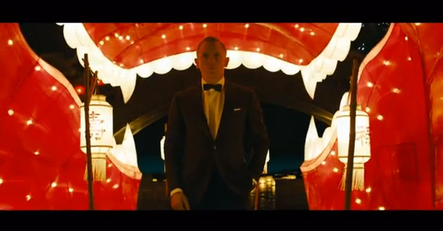 The casino scene in Skyfall