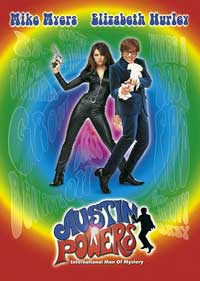 [Austin Powers Movie Poster]