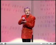 Eddie Izzard's James Bond Standup Comedy
