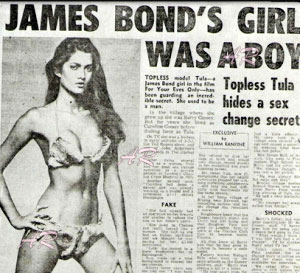 from Cain james bond transsexual