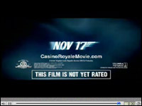 James Bond Movies: Casino Royale Trailers and TV Spots @ Universal