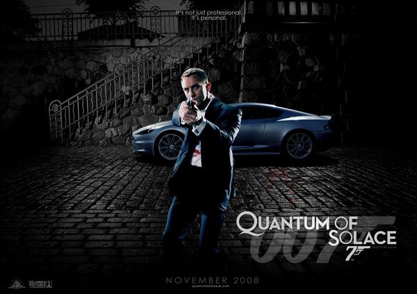 19 Votes Quantum Of Solace Aka James Bond 22 Mock Poster
