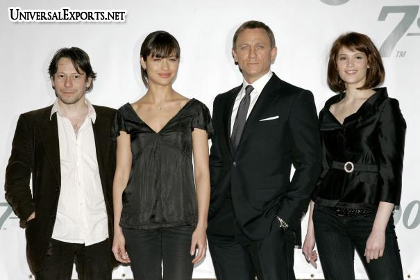 James Bond Movies Quantum Of Solace Worldwide Launch Press