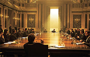 the SPECTRE boardroom