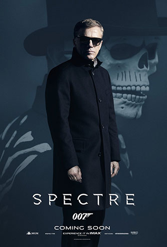 Christoph Waltz SPECTRE character poster