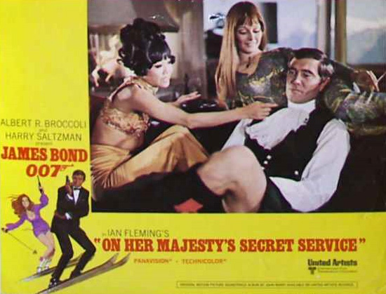 James Bond Movies: On Her Majesty's Secret Service Movie ...