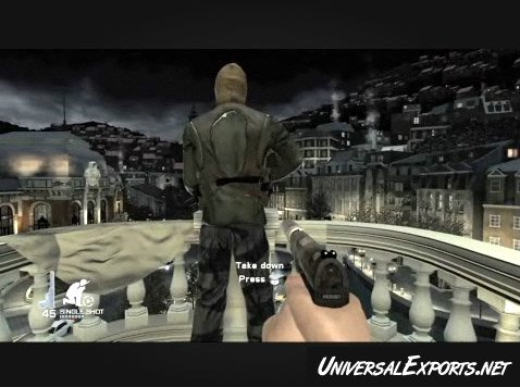 James Bond Movies Quantum Of Solace Video Game Universal