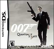 Quantum of Solace Video Game Box Art - Nintendo DS