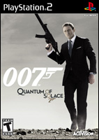 Quantum of Solace Video Game Box Art - Playstation 2