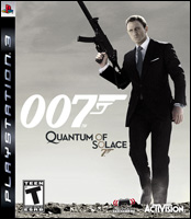 Quantum of Solace Video Game Box Art - PS3