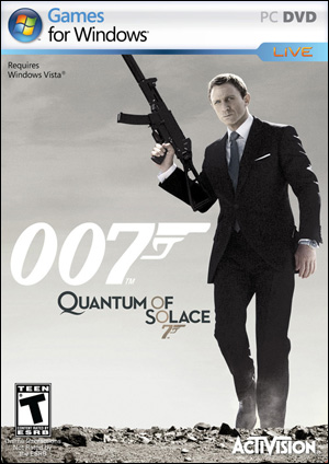 Quantum of Solace for the PC