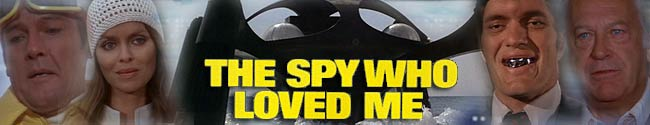 James Bond Movie Header Fan Art - The Spy Who Loved Me