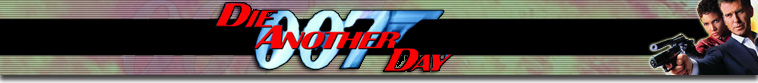 James Bond Movie Header Fan Art - Die Another Day