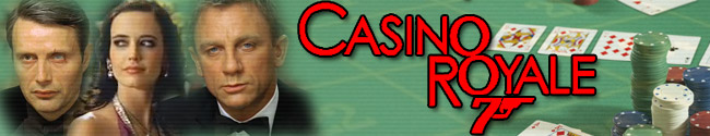James Bond Movie Header Fan Art - Casino Royale