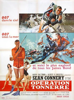 James Bond Movies Thunderball Images Universal Exports The Home Of James Bond 007