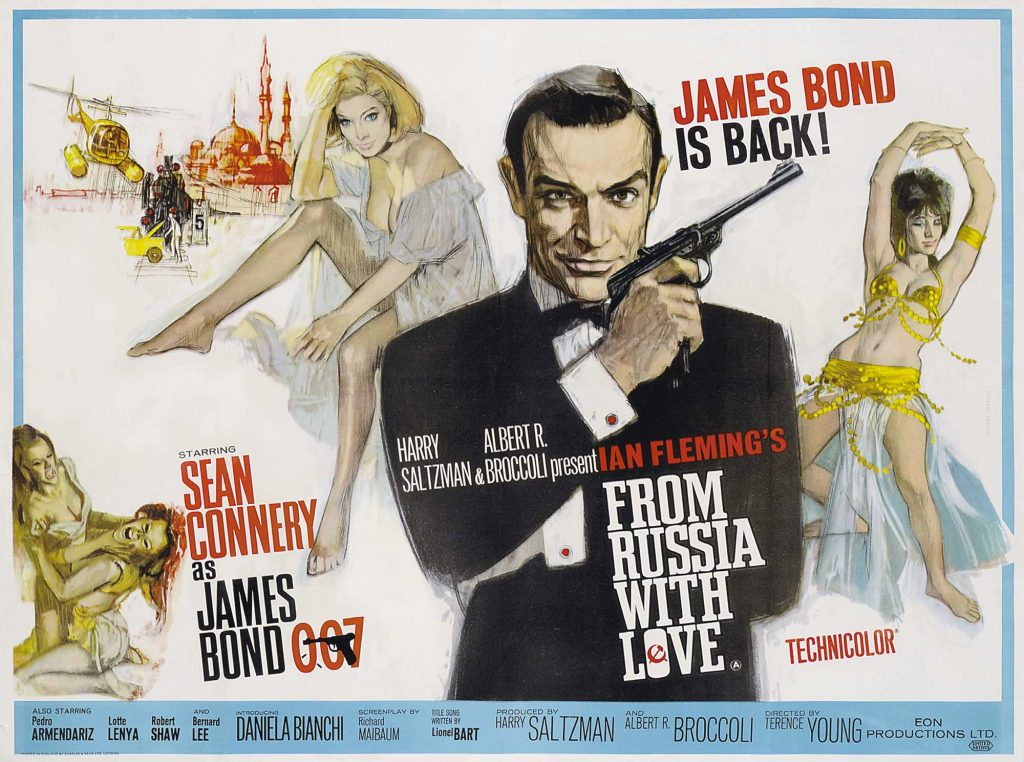 From Russia With Love Wide Poster