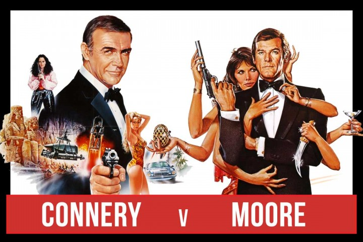 Connery vs Moore - the Battle of the Bonds