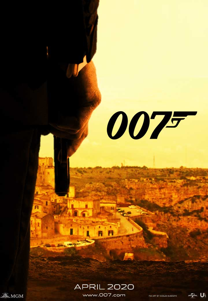 James Bond 007 Fan Art...