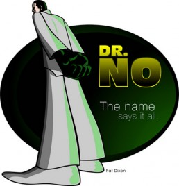 Dr. No fan art by Pat Dixon