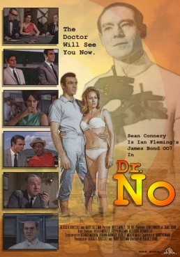 Dr. No fan art by Ricky Kennedy