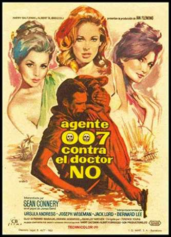 Dr. No Spanish Movie Poster