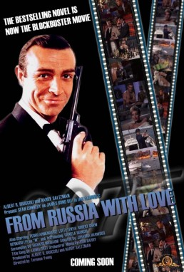 From Russia With Love fan art by Ricky Kennedy