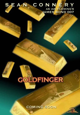 Goldfinger fan art by Ricky Kennedy