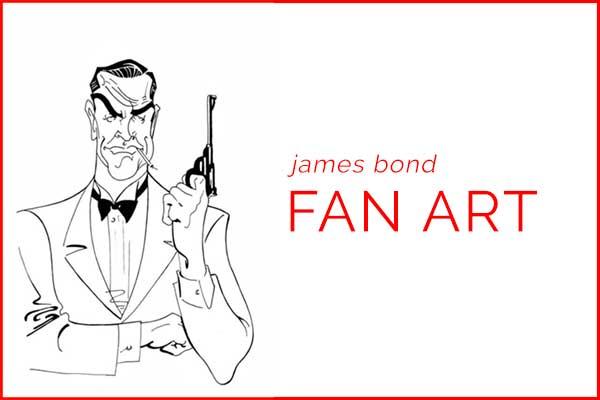 James Bond 007 Fan Art