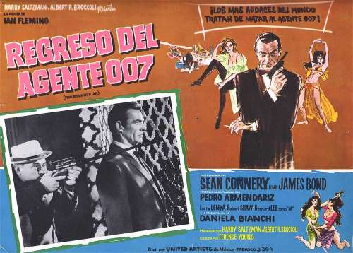 Mexican From Russia With Love poster