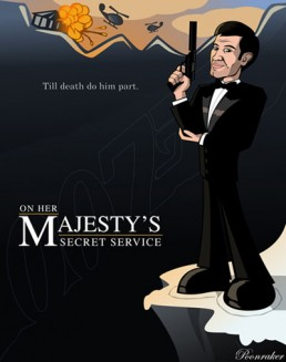 On Her Majesty's Secret Service fan art by Pat Dixon