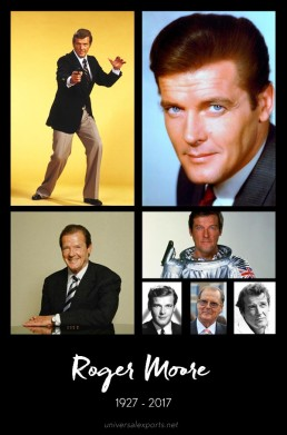 Roger Moore tribute by Greg Goodman