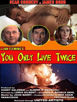 You Only Live Twice fan art by Greg Goodman