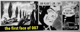 John McLusky - the original James Bond 007 comic strip artist for the Daily Express