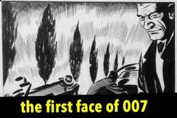 John McLusky - the original James Bond 007 comic strip artist for the Daily Express