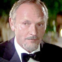 Julian Glover as Kristatos in For Your Eyes Only