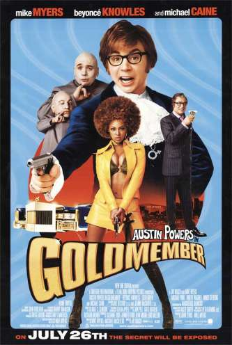Austin Powers Goldmember Poster