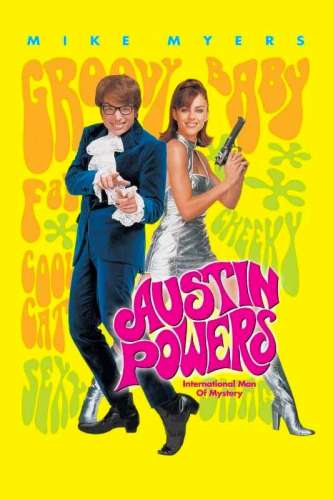 Austin Powers International Man of Mystery poster