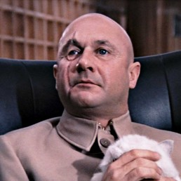 Donald Pleasence as Blofeld in You Only Live Twice