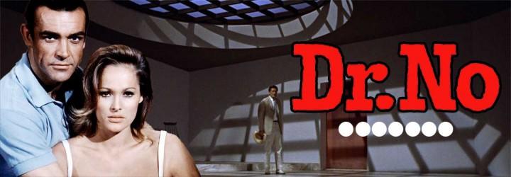 Dr. No Movie Header - James Bond Fan Art by Greg Goodman