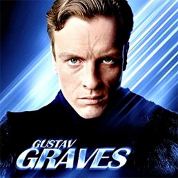 Toby Stephens as Gustav Graves in Die Another Day