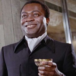 Yaphet Kotto as Mr Big in Live and Let Die