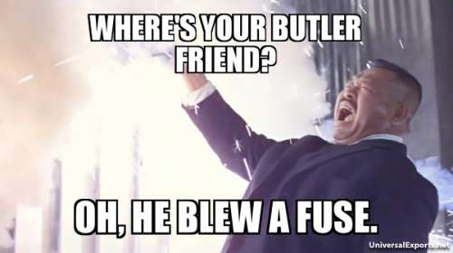 Goldfinger puns and one liners
